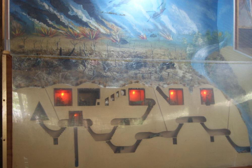 Cu Chi Tunnel Diagram
