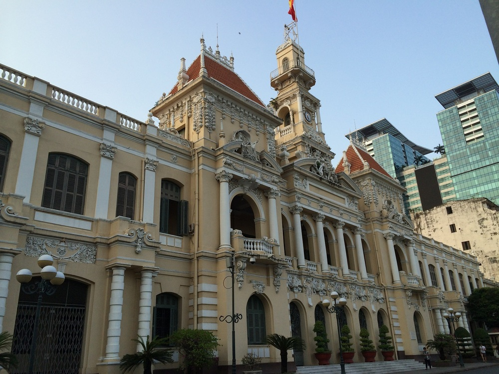 City Hall in HCM City