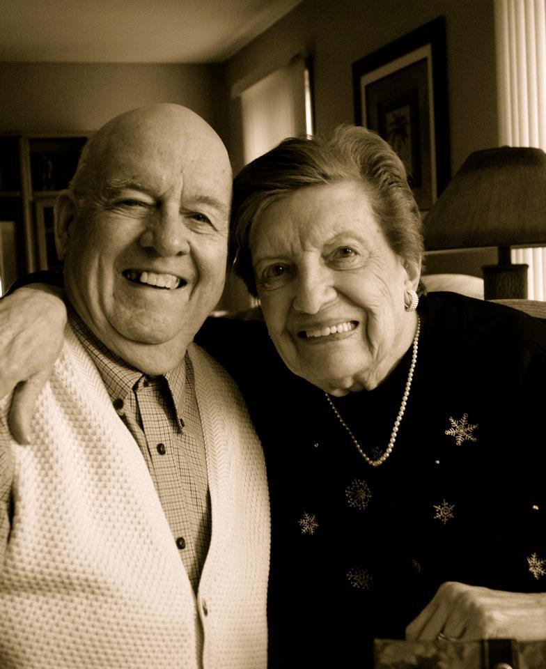 Grandma and Grandpa P - Thanksgiving 2011