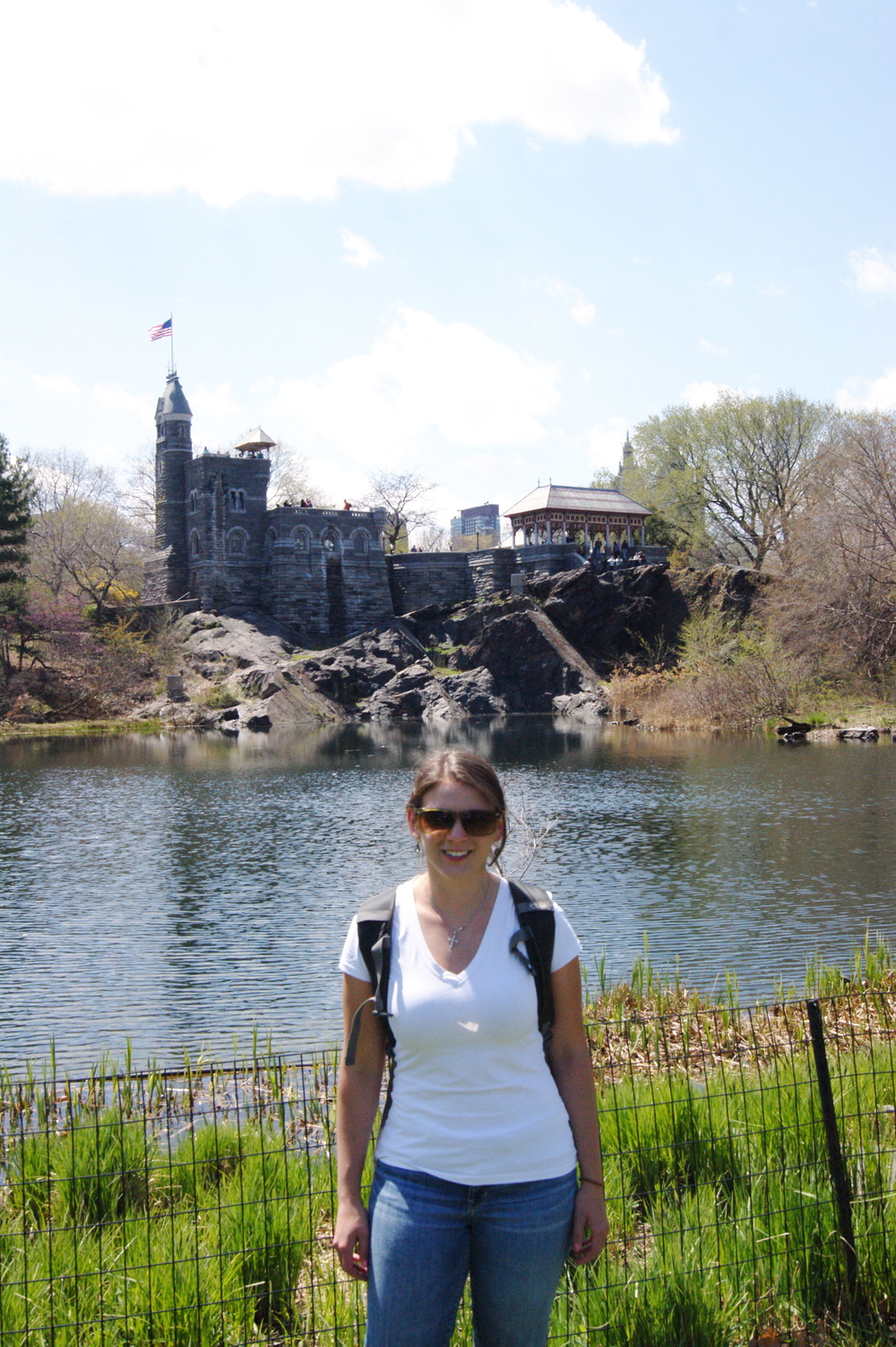 Me, in front of the Belvedere Castle