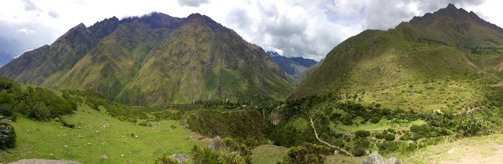 Day 1 - Gaining altitude, some incredible vistas