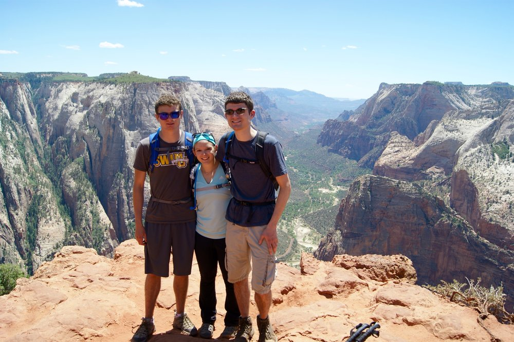Zion National Park - Favorite: Hiking all 16 mi of the Narrows top-down. Least Favorite: Marc's medical scare. Kudos: Goes to In-n-Out Burger, for giving us the most glorious meal of our lives.