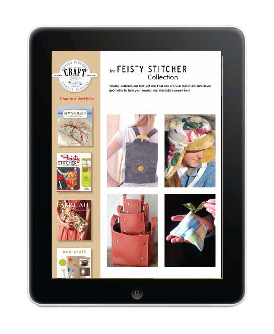 The iPad app allows for a whole new way to distribute content with greater interactivity and flexibility than magazines and books.
