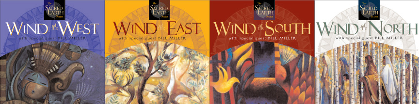 Series of four audio CDs of music by Grammy-nominated pianist Peter Kater. Each of the four package represents a different cardinal direction.