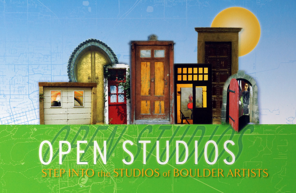 illustration for the Open Studios artist tour in Boulder, Colorado