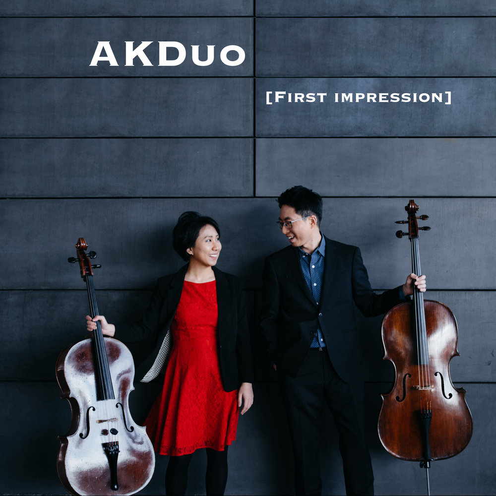 First impression - AKDuo's first album [First impression] has arrived!Buy on Itunes, Amazon, or CD Baby