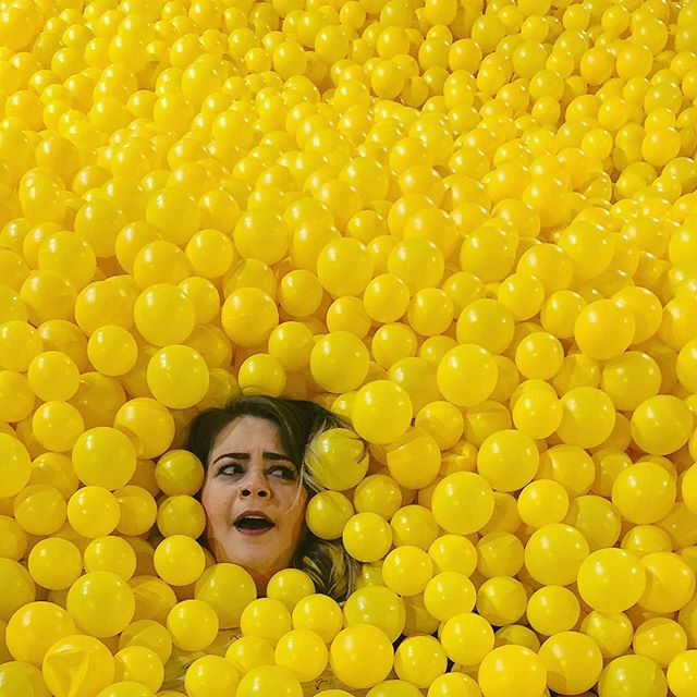 😟 #emojisinthewild #color #yellow