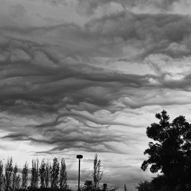 #clouds are tearing it up today! #mountainview #blackandwhitephotography