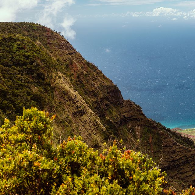 Swipe ⬅️➡️ ! Ever wanted to see the Grand Canyon meet the ocean? Try #waimea canyon in #kauai #hawaii #landscape #panorama #ocean #mountains