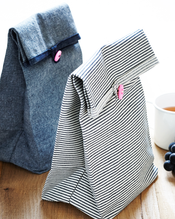Cuteness on the outside and tasty on the inside.  This sewing project from the  Purl Bee  is just the ticket to get you excited about making lunch.