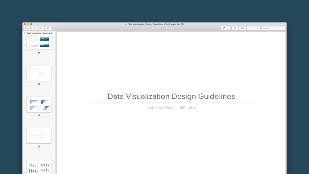 Apptio Data Visualization Design Guidelines