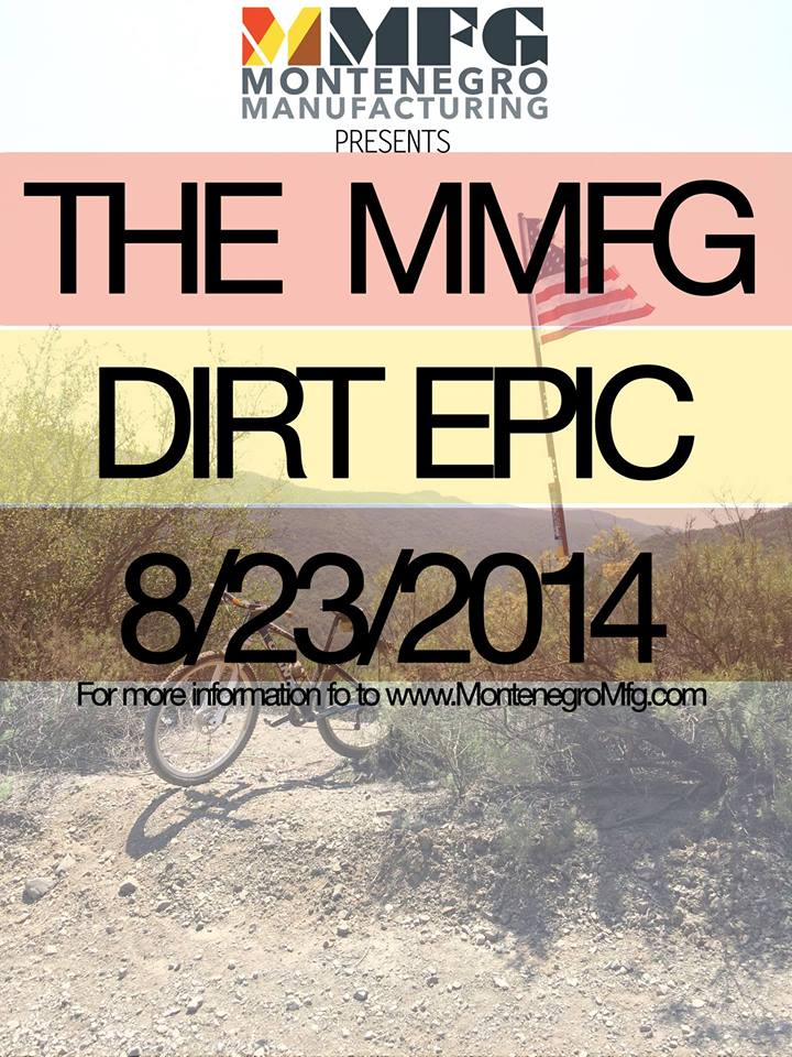 THE MMFG DIRT EPIC