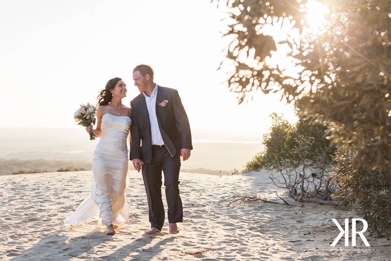 Rainbow beach wedding photographer 6
