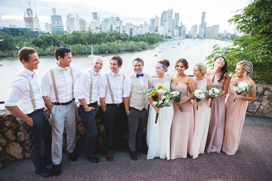 Brisbane city wedding photographer