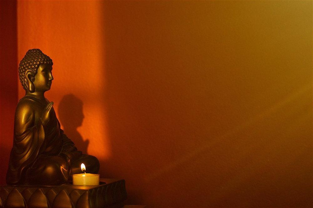 13 Crimson Buddha