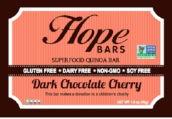 Dark Chocolate Cherry Bars