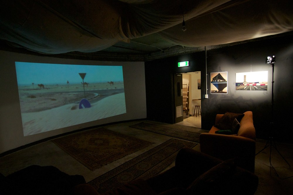 Roads to Nowhere (2012) — Exhibition View