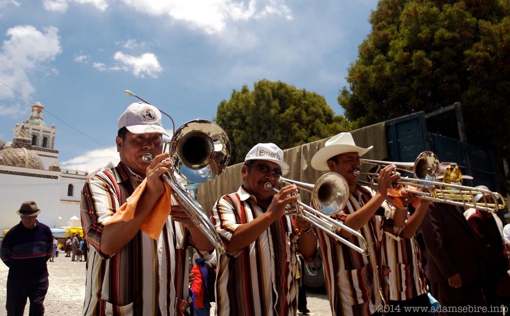 Bolivian Trombonists