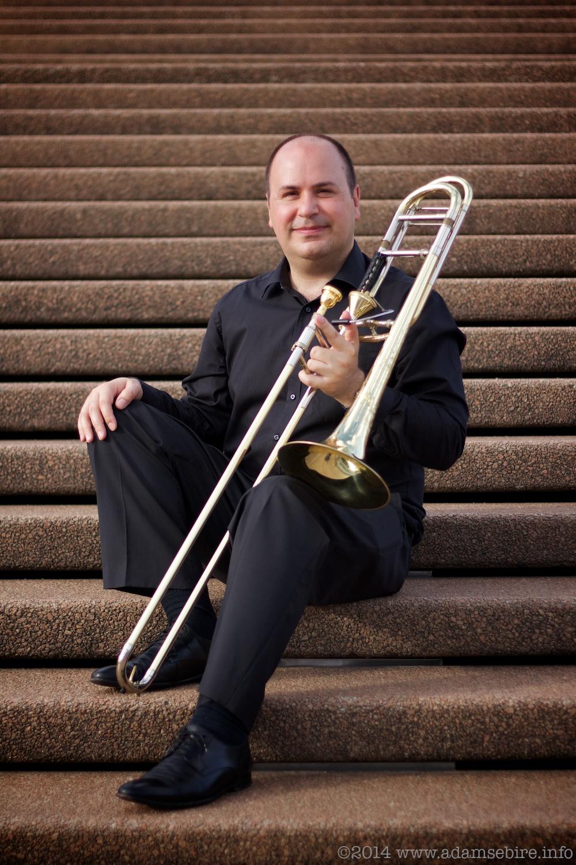Portrait: Michael Wyborn, trombonist
