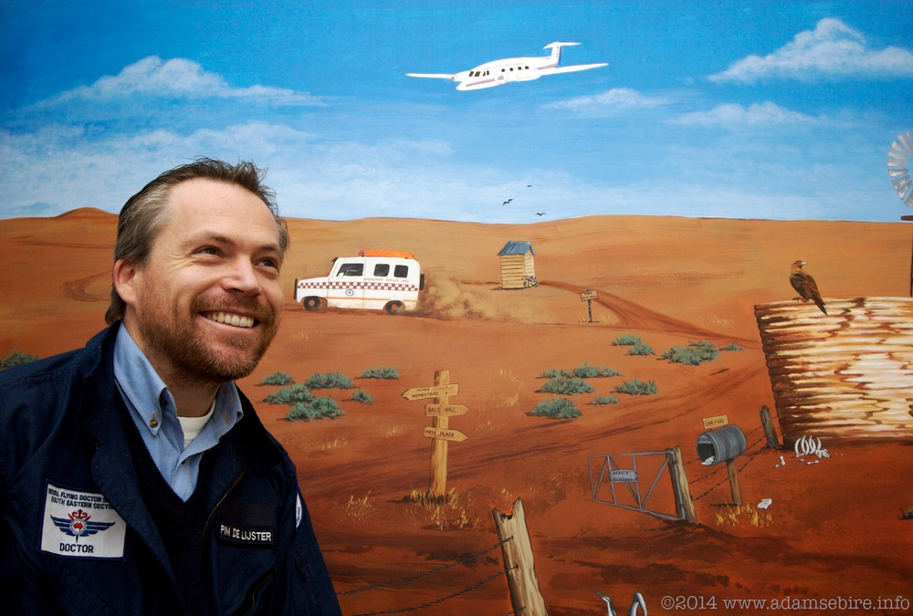 Royal Flying Doctor Pim de Ljister (RFDS Australia)