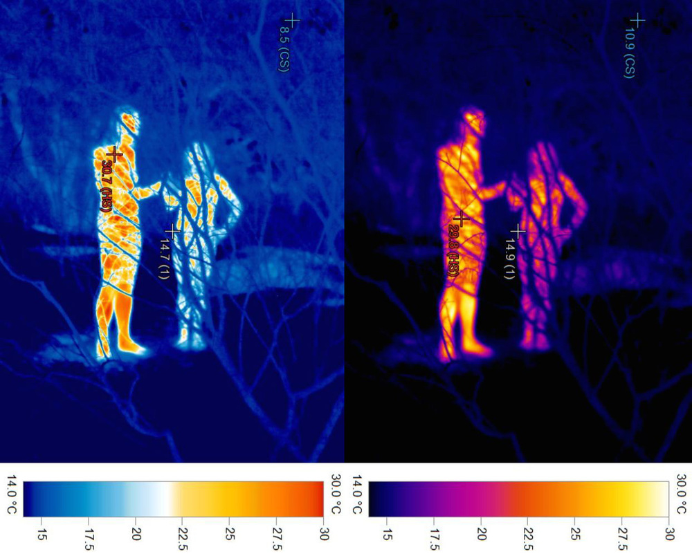 Adam Sebire Thermograph