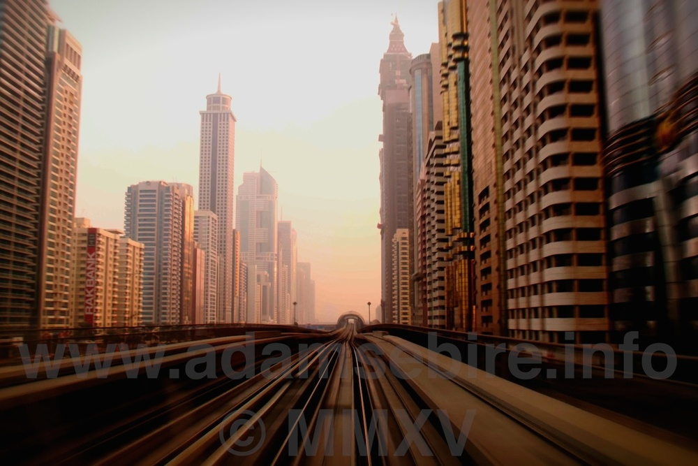 "METROpolis (2012) from the exhibition ""Roads to Nowhere"" — Dubai and the global financial crisis (GFC)"
