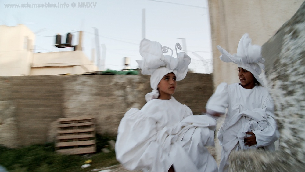 Carried by the Wind (music documentary at the Separation Wall in Bethlehem)