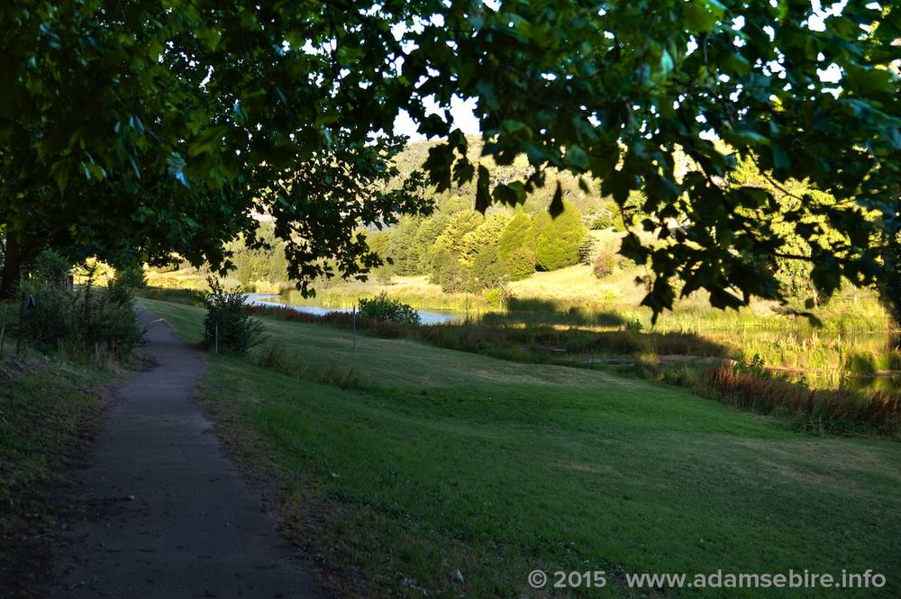 River walk, Bombala NSW