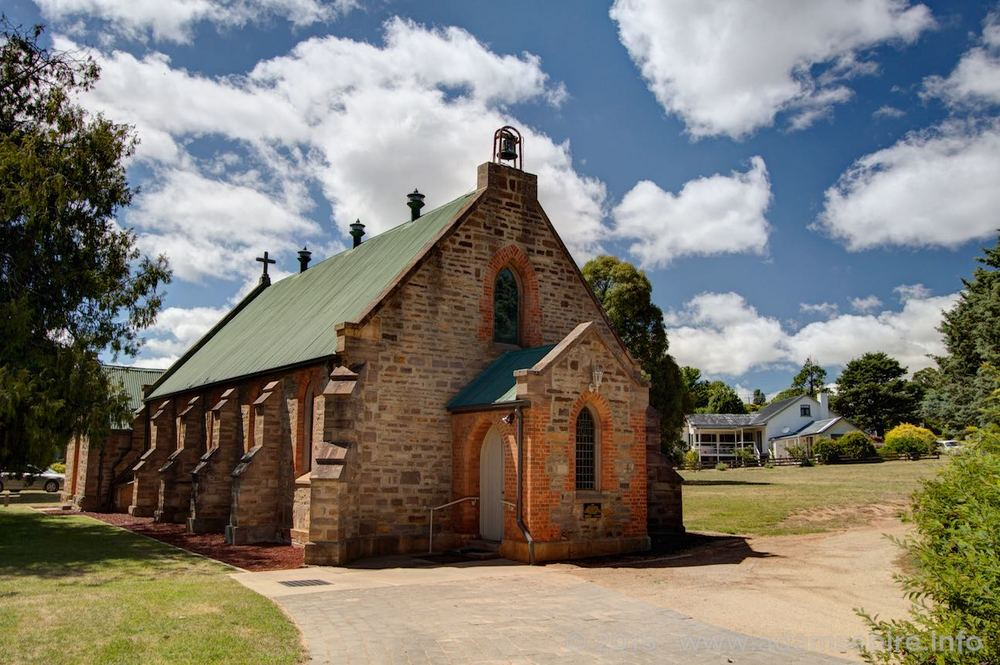 Bombala Anglican Church, opposite Boonah