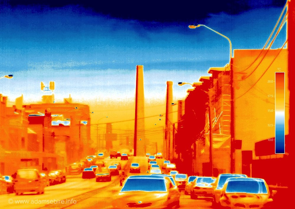 Anthropocene thermal image #IR001889