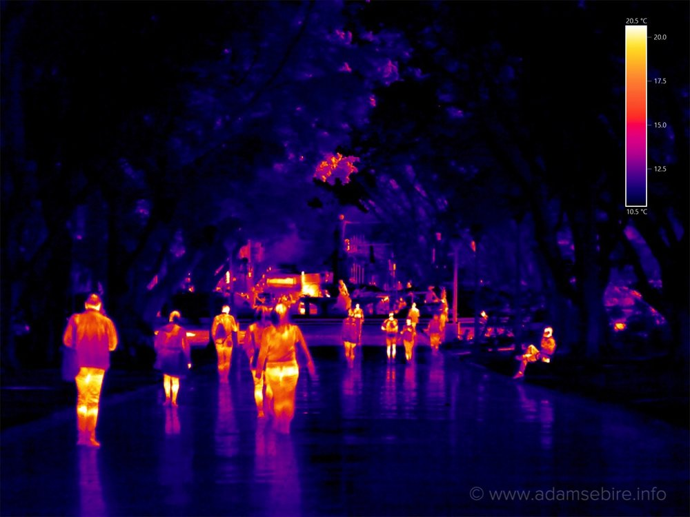 Infra-red thermal photography IR000710