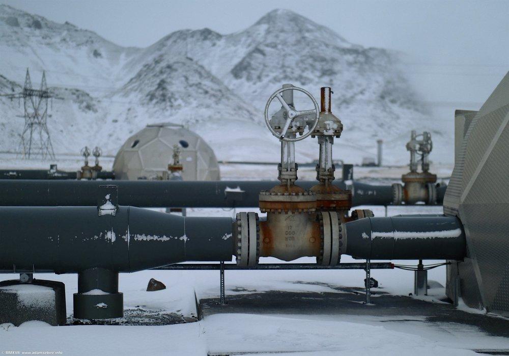 Carbon injection wells, Climeworks / CarbFix2 Hellisheiði site, Iceland