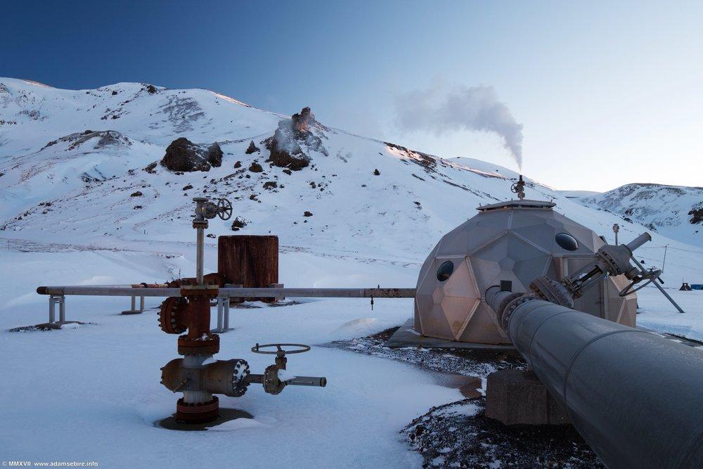 Hellisheiði geothermal power plant, Iceland