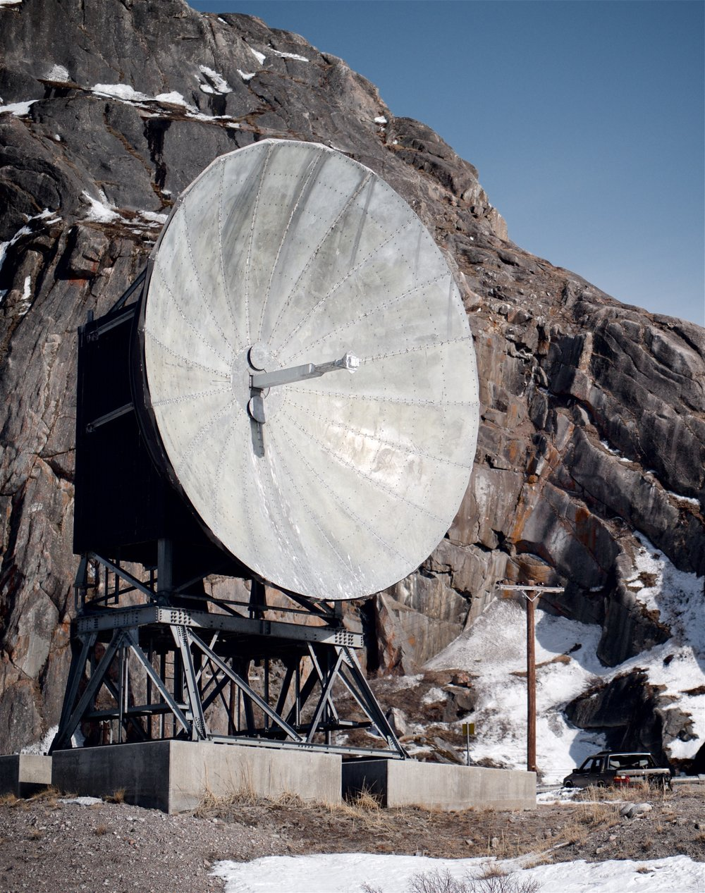 Abandoned Cold War detritus, Greenland
