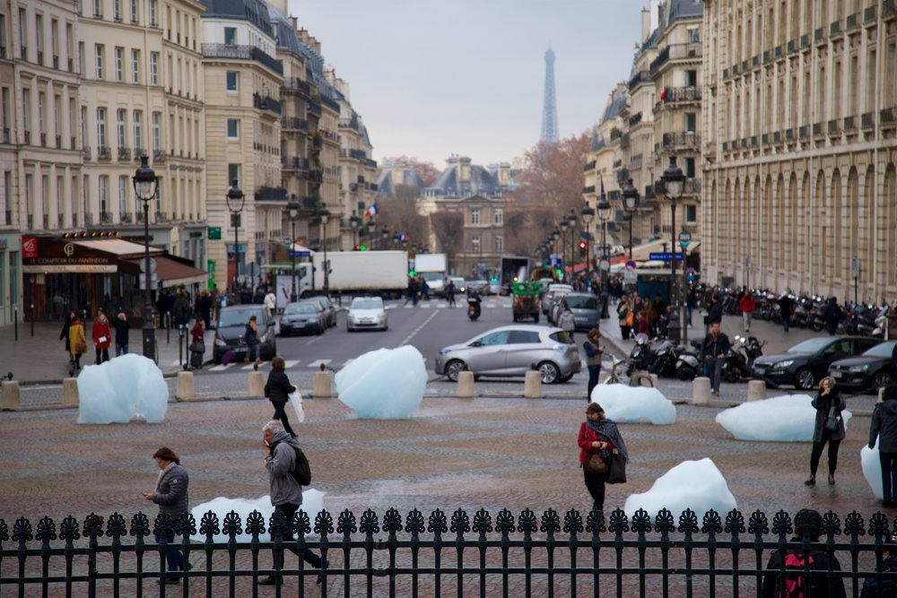 Olafur Eliasson artwork for COP21 Paris