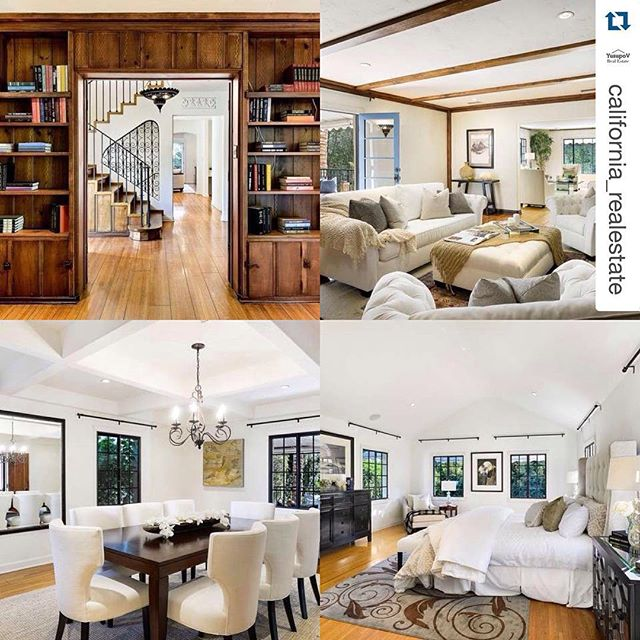 Contact us for inquiries #RPBLQ #Repost @california_realestate ・・・ $3,750,000 5,426 sq ft 5 beds / 4.25 baths Located on ultra-exclusive Toluca Lake Avenue, this 1929 Spanish Colonial Revival blends space, style and craftsmanship. Walled and gated for privacy and security it is one of only 5 homes with access to a private park and is among 35 homes with lake privileges. Appx 5426 sf, there is lavish public space including a wood paneled library with fireplace and French doors that open to a veranda, formal living room accented by casement windows and a main floor family room. Dining options include a breakfast room, formal dining room, European style brick patio and family room bar counter. Original wood ceiling beams, stained and leaded glass windows, arched wood doors and plaster friezes remain. A Master suite and two additional en-suite bedrooms are on the second floor. The pool level offers an additional bedroom and bath and a large family or media room with French doors that open to the pool area. #realestate #development #homes #luxury #success #wealth #california #lifestyle #dream #ca #LuxuryHome