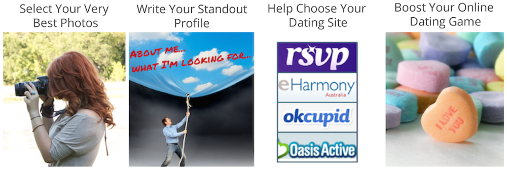 Online dating writing service