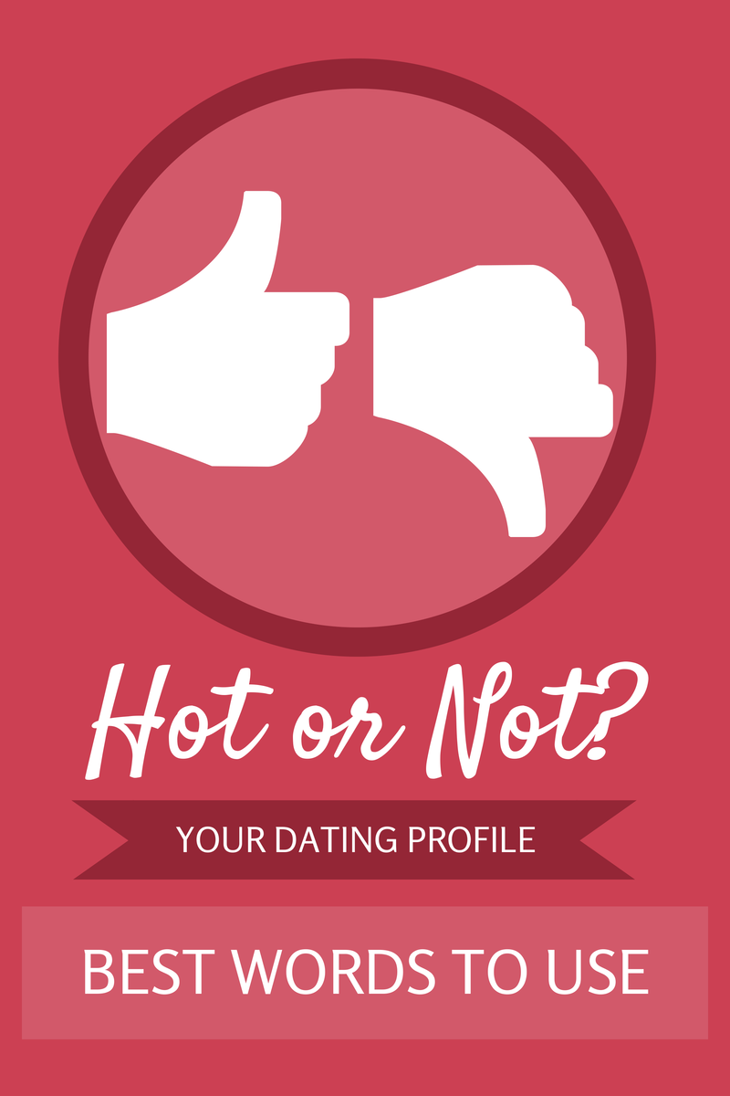 words for online dating profile