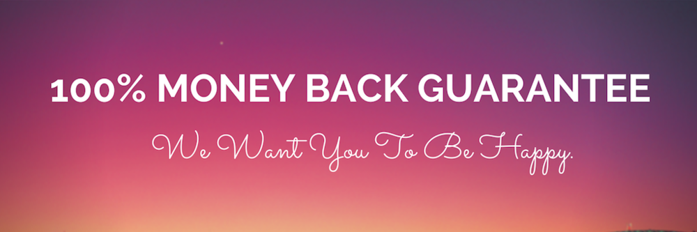 100% money back guarantee - we want you to be happy with your new online dating profile - for the dating site of your choice - free and paid - including eHarmony Australia, RSVP, OKCupid and OasisActive.