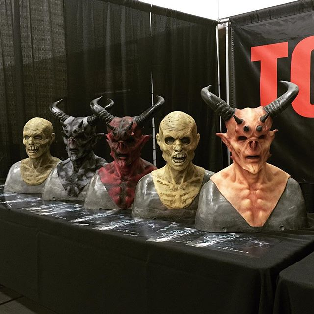 Preview for @blackboxfx at our booth at ScareLA #tophaunts #blackboxfx #scarela