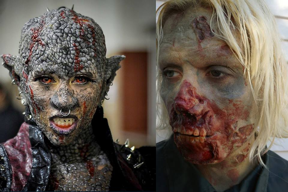2015 Top Haunts Judges' Choice Award Winner for Best Special Effects Makeup: Vincent Damyanovich