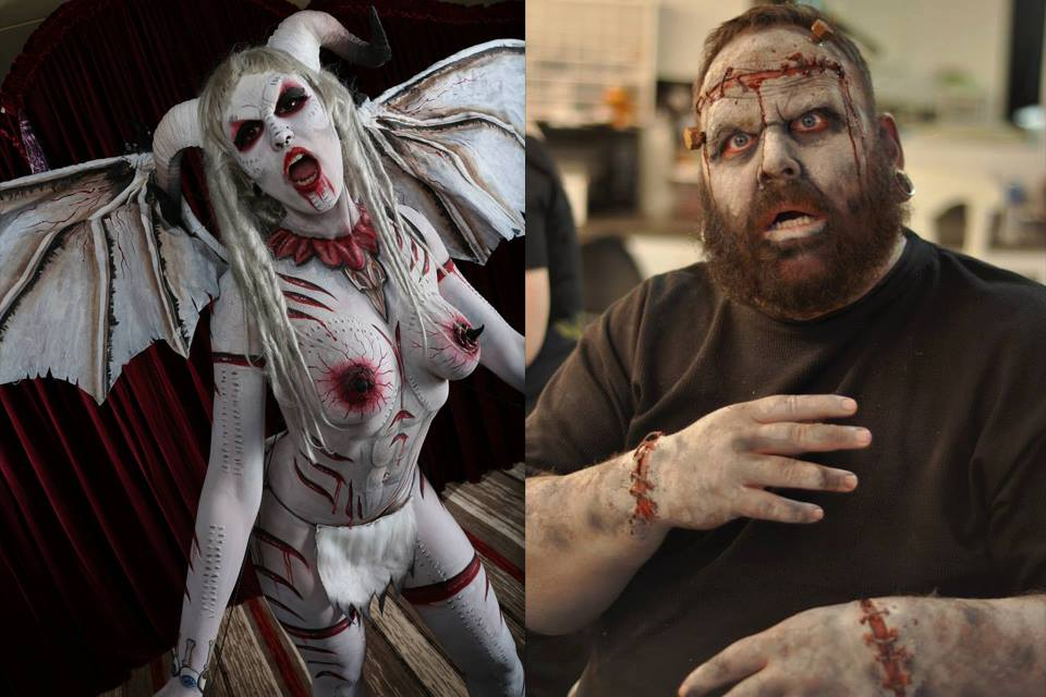 2015 Top Haunts People's Choice Award Winner for Favorite Special Effects Makeup: Aryn Fox