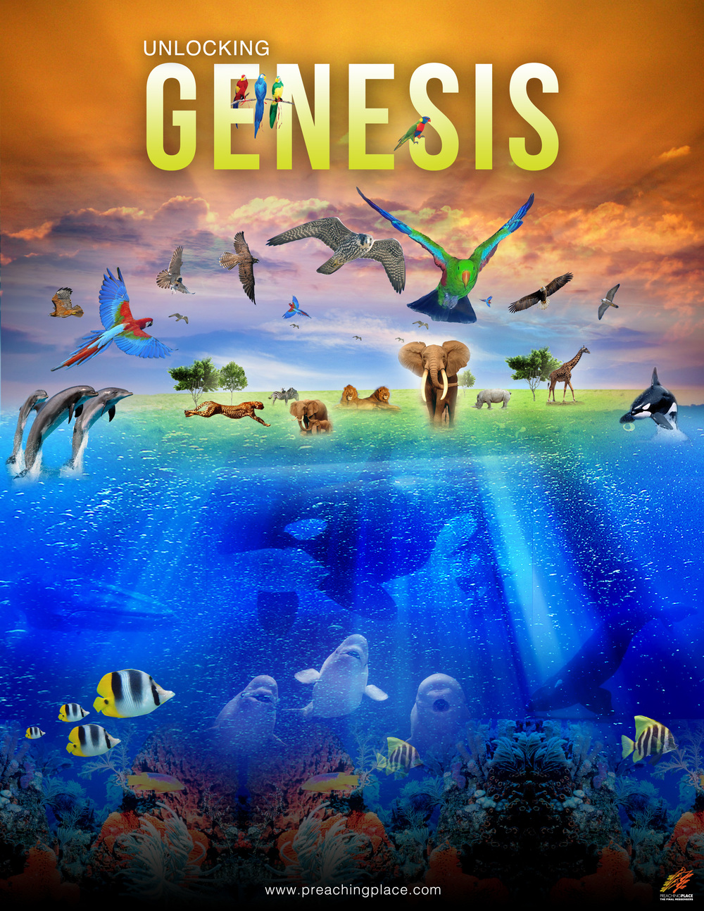 Unlocking Genesis - Official Poster By PreachingPlace