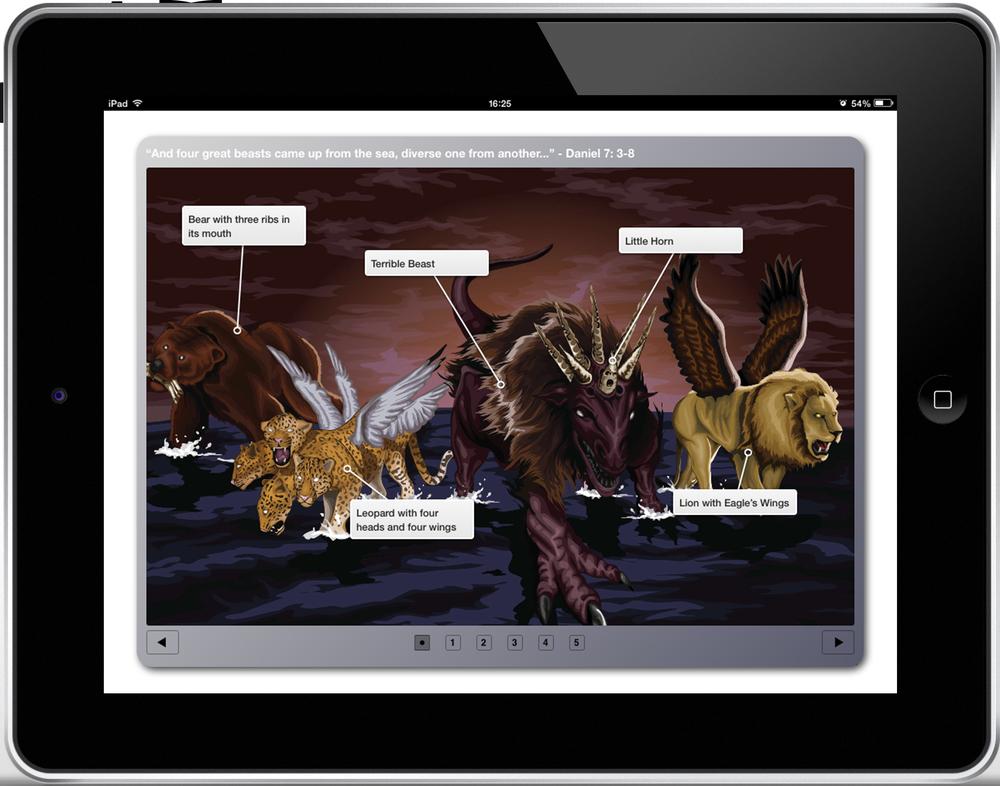 Daniel 7 iBooks Bible Study -Download for iPad