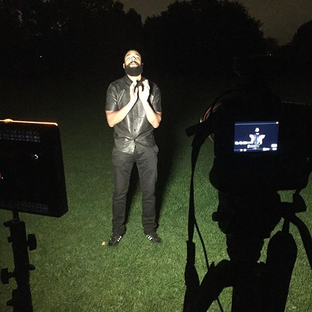 Got to love getting the new videos done for Jesus. Hide and Seek @trailblazerfuller preaching his heart out #canon #film #pp #PreachingPlace #video #instagood