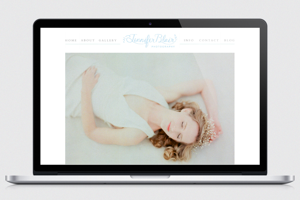 A refreshed, branded site that allows the images themselves to shine.