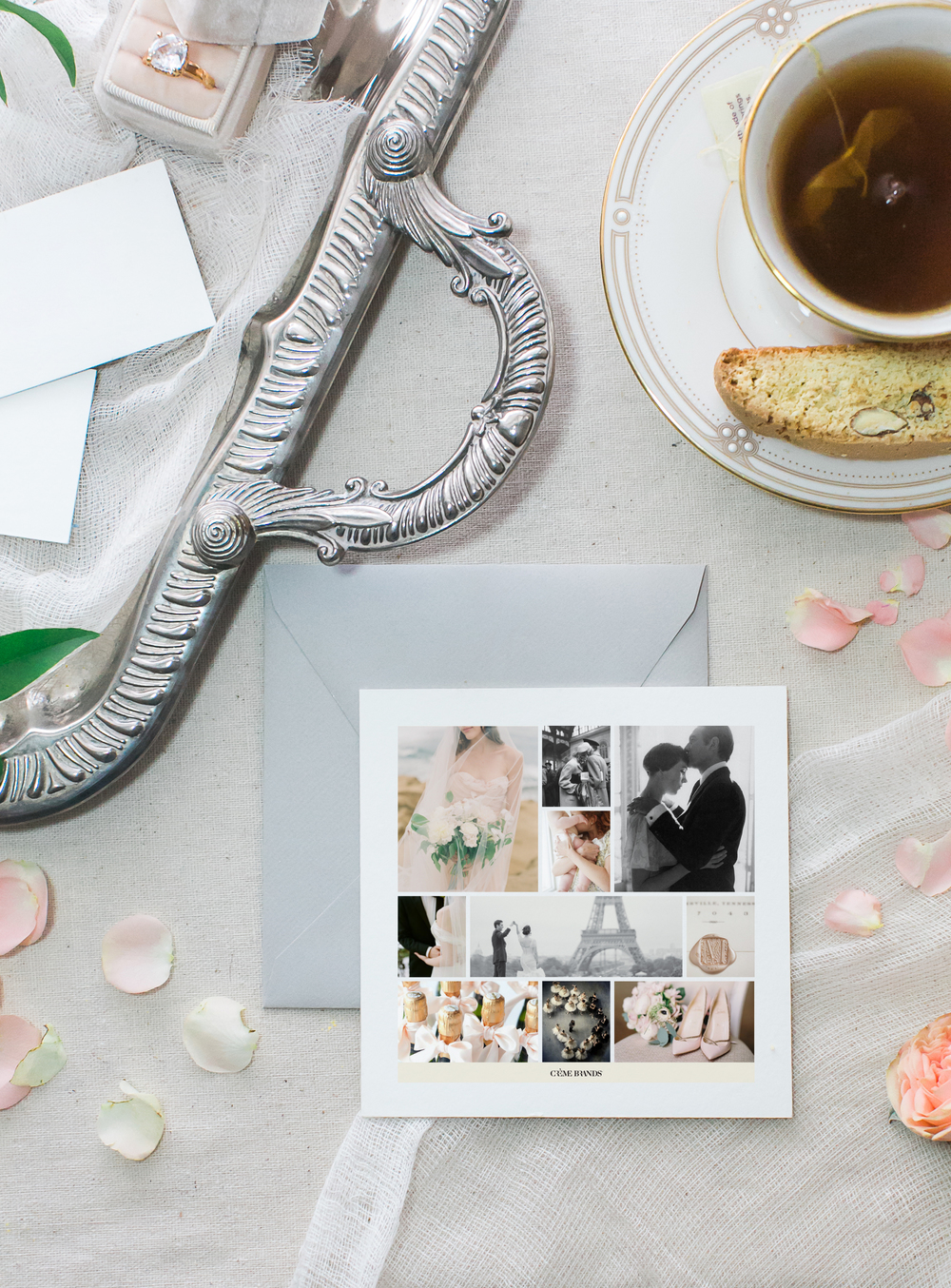 brand design timeless wedding strategy by Crème Brands