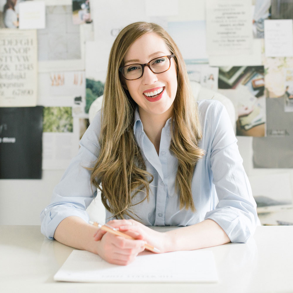 Kathryn Duckett brand designer for wedding professionals and creative small businesses