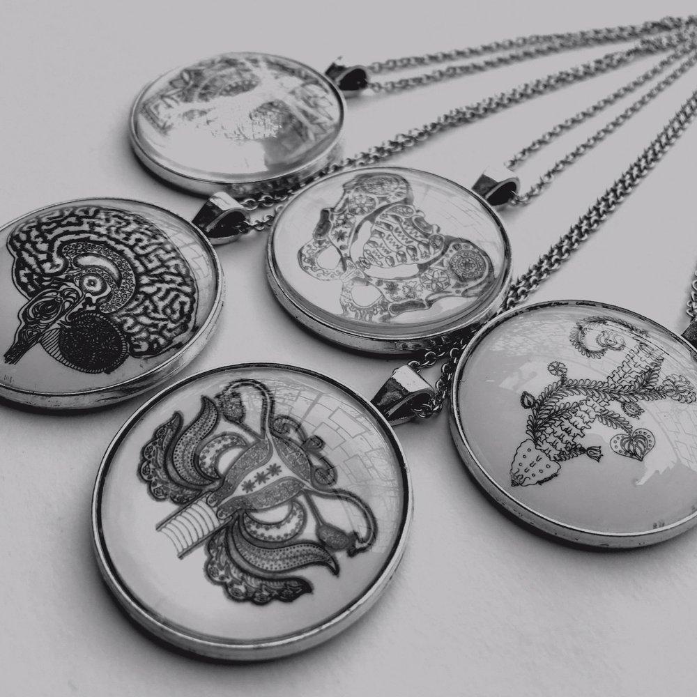 Szervmandala ékszerek - organ-mandala jewelry
