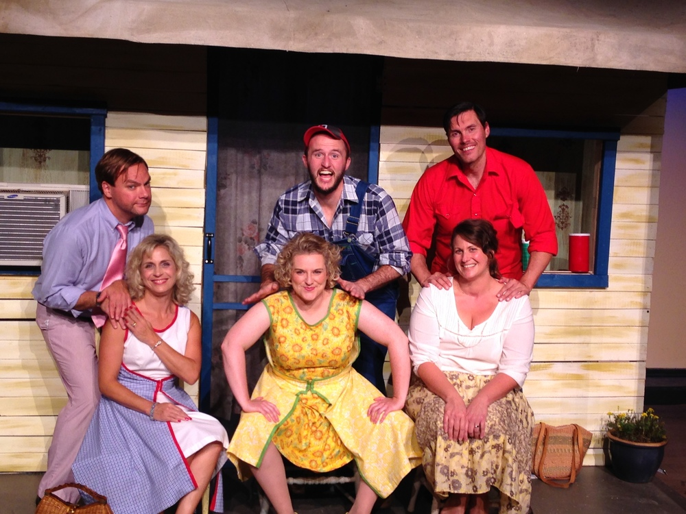 "The Cast of ""Laundry & Bourbon"" and ""Lone Star"", 2014"
